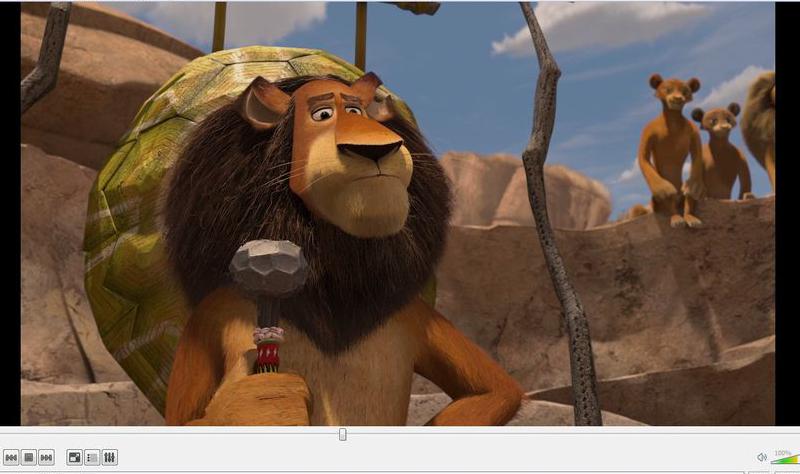 اسکرین شات VLC
