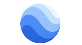 لوگو google earth